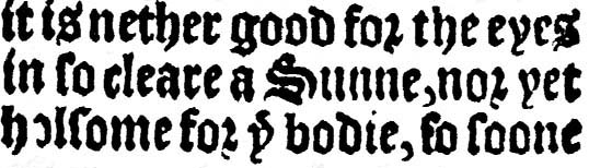 ye for article the 1545: for ye bodie