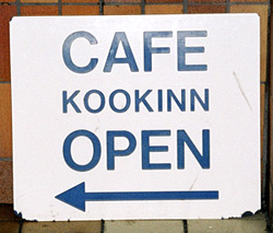 Kook spelling for Cook Newcastle